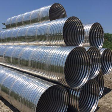 Corrugated Aluminum Pipe | Metal Culverts